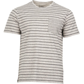 United By Blue M's Standard Stripe SS Tee Grey